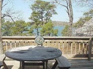 Great way to start the day on your large deck looking out over Long Pond. - Cape, Long Pond & Fantastic Spring & Summer - Brewster - rentals