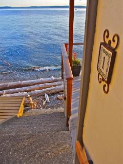 Beachfront Condo in Rare, Stunning Location - Seattle vacation rentals