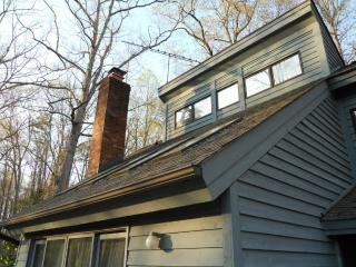 Passive Solar Modern Home:  River & Forest Vistas - Greensboro vacation rentals