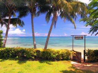 Beachfront Cottage on secluded romantic beach - Matei vacation rentals