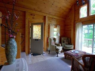 Beautiful, Bright Log Cabin on 90 acres - Tunbridge vacation rentals