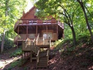 """Hear the creek """"sing"""" on this 1 1/2 acres - Blairsville vacation rentals"""