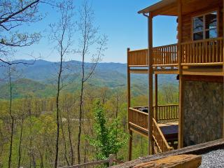 Above the Trees - Mountain View, Pool Table, Wi-Fi - Bryson City vacation rentals