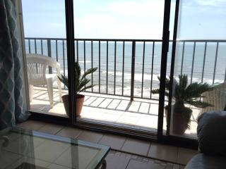 Panoramic view of the Gulf and budget friendly - Galveston Island vacation rentals