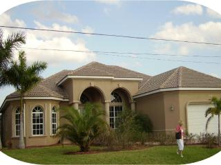 Luxury waterfront 4 bedr.  den 3 bth POOL-SPA home - Cape Coral vacation rentals