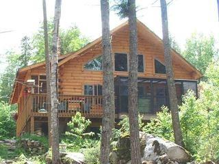 Lake Front Maine Cabin on Cold Stream Pond - Image 1 - Burlington - rentals