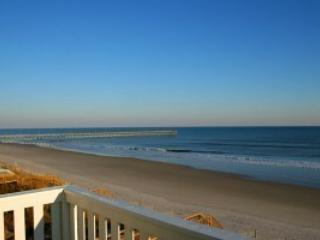 2nd floor deck view - Ocean Front 5 Bedrooms with elevator - North Topsail Beach - rentals