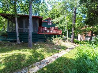 """""""Bunk House"""" Serene 4BR Hague Cottage on Lake George w/Small Beach, Private Dock & Wifi - Less Than 1 Mile from Downtown Hague! - Hague vacation rentals"""