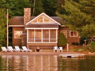 """Beach House"" Charming 3BR + Loft Hague Cottage w/Wifi & Private Beach - Steps from Swimming, Boating & Fishing on Lake George! - Hague vacation rentals"