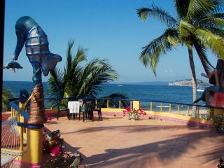 Romantic Apartment with Deck and Internet Access - La Peaita de Jaltemba vacation rentals
