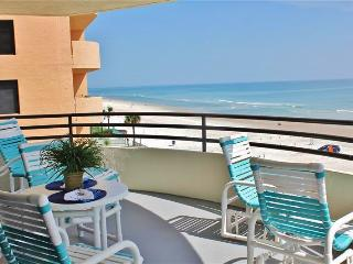 Beautifully Decorated 2BR Oceanfront Condo in Daytona Beach w/Wifi, Private Patio, Sweeping Ocean Views & Direct Beach Access - Minutes to Daytona Int'l Speedway & More! - Daytona Beach Shores vacation rentals