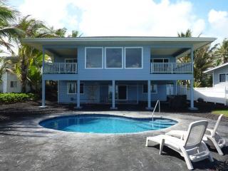 Oceanfront Home w/Pool  Hawaii Tax ID# - W88426598 - Pahoa vacation rentals