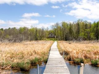 Rustically Refined 3BR Nevis Cabin w/Private Dock, Fire Pit & Charcoal Grill - Great Lakefront Location! Easy Access to Golf Courses, Fishing & More - Nevis vacation rentals