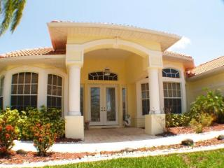 Casa Primavera - spacious 3 bed, 3 bath lake home - Cape Coral vacation rentals