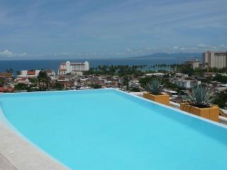 3 bed 3 bath deluxe - shared rooftop infinity pool - Puerto Vallarta vacation rentals