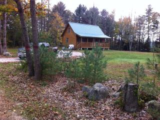 Two bedroom log cabin w/ loft on 1acre - Harrison vacation rentals