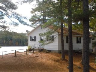 Cozy Private Lakeside Cabin, Dock & Sandy Swimming - West Newfield vacation rentals