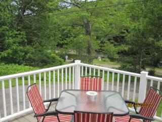 Cozy 2-bdrm w/ lg deck overlooking Round Pond cove - Round Pond vacation rentals