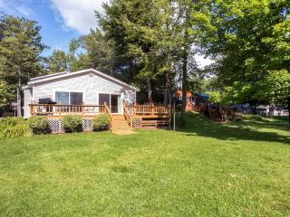 New Listing! Lakefront 3BR Grayling House on Lake Margrethe w/Wifi, Gas Grill, Spacious Deck & Gorgeous Water Views - Easy Access to Abounding Outdoor Recreation! - Grayling vacation rentals