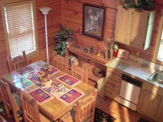 Enjoy Ole Glory the Americana Cabin in the Smokies - Sevierville vacation rentals