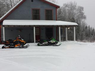 Snowmobile,hunting,fishing,sking,relaxing home - New Portland vacation rentals