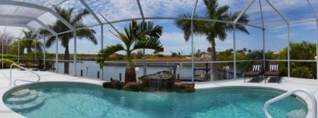 5 Bedroom Sunset Waterfront Villa - Image 1 - Cape Coral - rentals