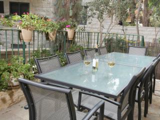 3 BR Kosher Garden Apartment in Rechavia - Jerusalem vacation rentals