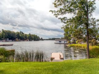 New Listing! Quaint Waterfront 1BR Wellesley Island Apartment w/Private Dock, A/C & Stunning Water Views - Minutes from Canada, Boldt Castle, Neighboring Islands & More! - Wellesley Island vacation rentals