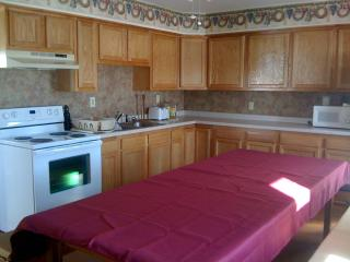 Lodge layout with spacious bedrooms and rec area - Morley vacation rentals