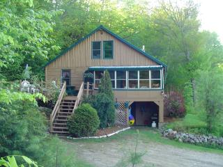 Cedar Waterfront Log Cabin - Greenwood vacation rentals