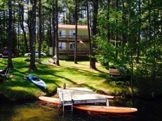 Waterfront Fun Pet Friendly Vacation Rental Camp - Gorham vacation rentals