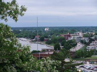 Million Dollar View at top of 5 Mile Hill - Grand Haven vacation rentals