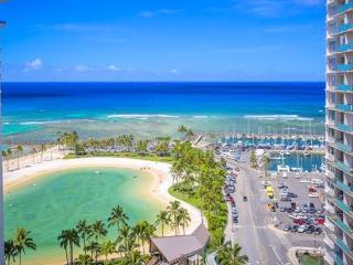 Waikiki Ilikai Suites 1820 Ocean/Lagoon View - Waikiki vacation rentals