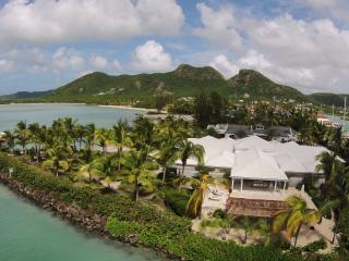 Palm Point, Antigua - Luxury Beachfront Villa - Jolly Harbour vacation rentals