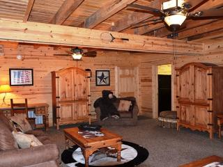 All Wood Cabin with Private Hot Tub secluded HUGE - Ridgedale vacation rentals