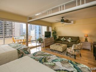 Ilikai Hotel 2 Dble beds, Sofa Futon Sleeper - Waikiki vacation rentals