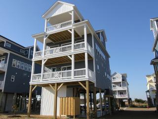 Community Pool, Pet Friendly, Water Views! - North Topsail Beach vacation rentals