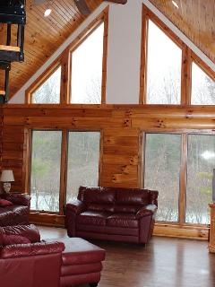 Newer Lakefront Log Cabin W/ Pretty View - Athens vacation rentals