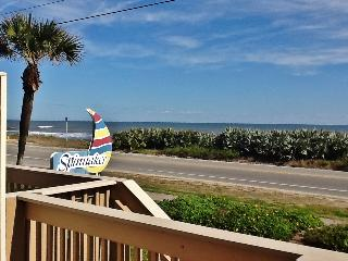 Wonderful 1BR Ormond Beach Condo w/Direct Beachfront & Ocean Views - Steps from a No Drive Beach & Easy Access to Daytona & St. Augustine Attractions! - Ormond Beach vacation rentals