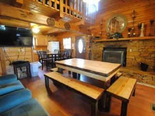 7 B/R, 4 bath/private pool/home theater - Sevierville vacation rentals