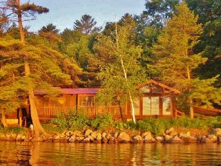 """Cook House"" Cozy 3BR Hague Cottage w/Fireplace & Beautiful Porch Overlooking the Water - Amazing Waterfront Location on Lake George! - Hague vacation rentals"