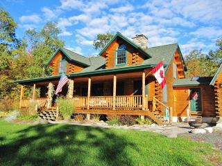 Stellar 3BR Wilmington Log Home on 20 Wooded Acres w/Large Porch & Beautiful Views - Close to Hiking, Skiing, Lake Placid & Many - Wilmington vacation rentals