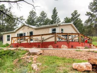Quiet 3BR Black Hills Home w/Wifi & Wrap Around Deck - Located on 6 Private Acres! Easy Access to Mount Rushmore, Crazy Horse, Sturgis & More! - Keystone vacation rentals