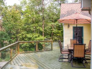 Enchanting 3BR Breezy Point Home w/Fire Pit, Wraparound Deck & Peaceful Water Views - Situated on 150 Feet of Pelican Lake Waterfront! - Breezy Point vacation rentals