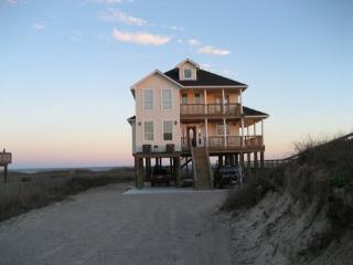 Custom beachfront home w/Private Walkway to Beach - Surfside Beach vacation rentals