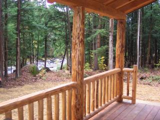 Adirondack Log Cabin on Pristine River - Glenfield vacation rentals