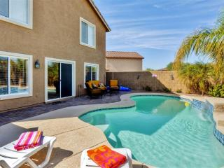 New Listing! Contemporary 4BR Buckeye House at Sundance Development w/Wifi, Private Heated Pool, Office Nook & Great Mountain Views - Close to Golf, Shopping, Spring Training, Downtown Phoenix & More - 30 Minutes to Sky Harbor! - Buckeye vacation rentals