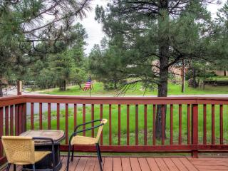 Serene 3BR Ruidoso Cabin w/Private Wraparound Deck & Gas Log Fireplace - One Level, Easy Access Year-Round! Close to Golf, Fishing, Snow Sports & More - Ruidoso vacation rentals