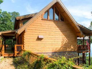 15% Off May!!     Impressive 4BR Jasper Log Cabin in Gated Community w/Gourmet Kitchen, Wrap-around Deck, Outdoor & Indoor Fireplaces & More - Serene, Quiet Location! - Jasper vacation rentals