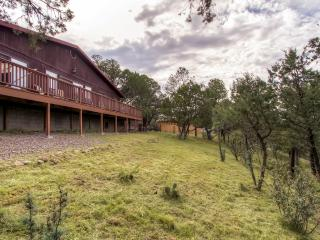 Serene 3BR Silver City Cabin w/Wifi, Private Wraparound Deck & Awe-Inspiring Mountain Views - Easy Access to Lake Roberts & Countless Renowned New Mexico Attractions! - Pinos Altos vacation rentals
